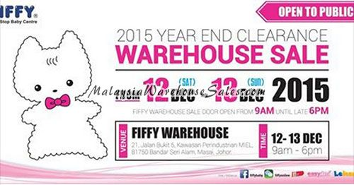 Fiffy Warehouse Sale
