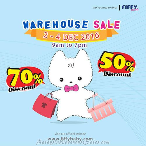 Fiffy Warehouse Sale 2016