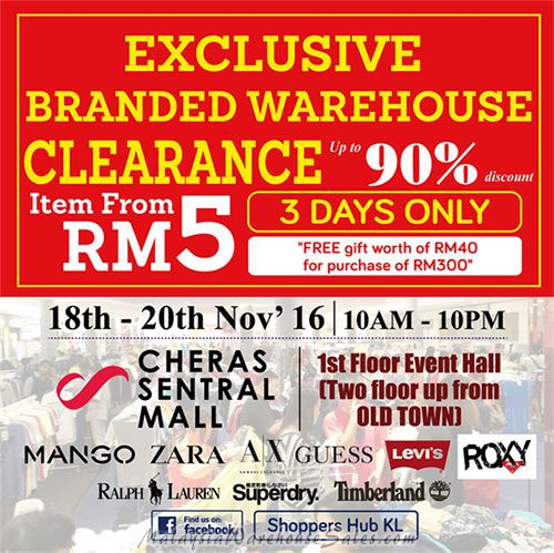 Shoppers Hub Branded Warehouse Sale