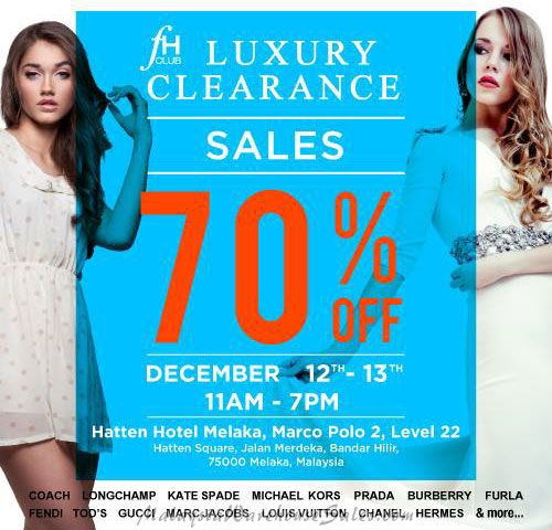 FH Club Luxury Clearance Sale