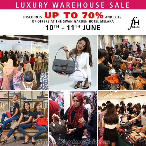 FH Club Luxury Warehouse Sale 2017