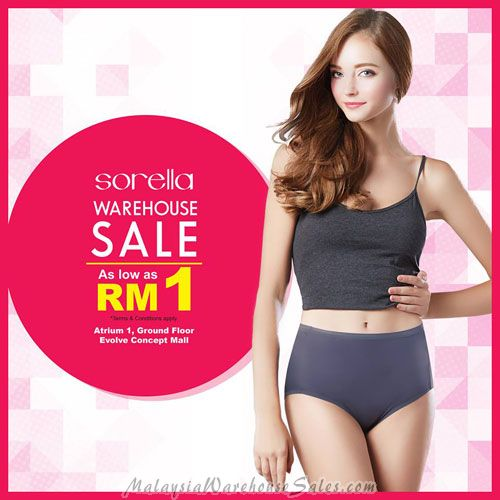 Sorella Warehouse Sale June 2017