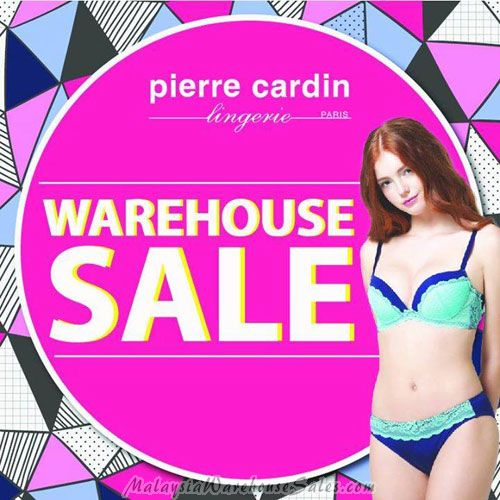 Pierre Cardin Lingerie Warehouse Sale 2017