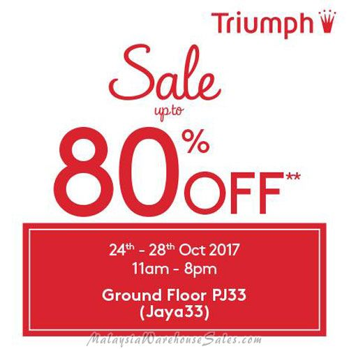 Triumph Lingerie Warehouse Sale 207