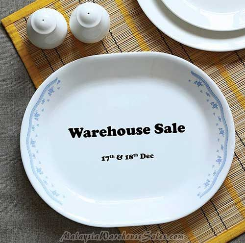 Corelle Warehouse Sale 2016