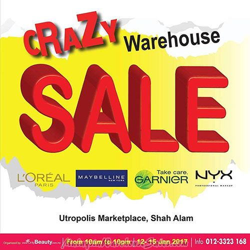 Only Beauty Warehouse sale 2017
