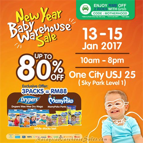 Motherhood New Year Baby Warehouse Sale