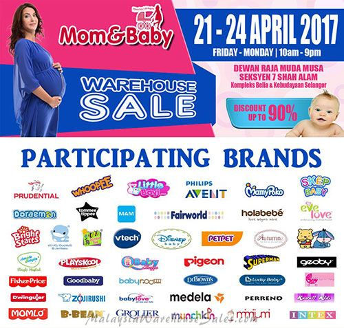 Mom Baby Warehouse Sale 2017