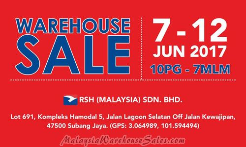 Royal Sporting House Warehouse Sale June 2017