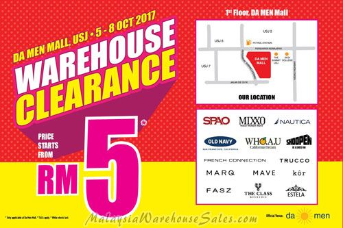Shoopen Warehouse Clearance Sale 2017