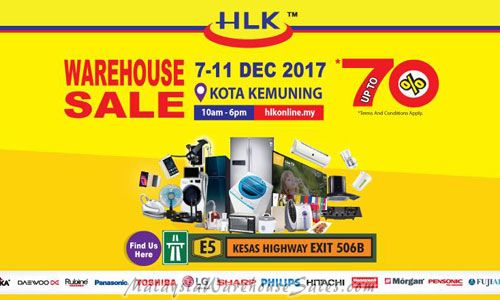 HLK Chain Store Warehouse Sale