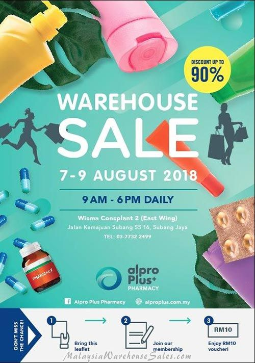 Alpro Plus Warehouse Sale